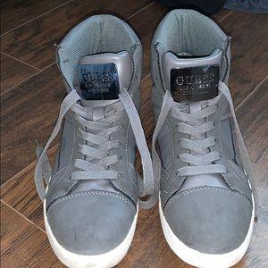 Guess Mens Hightop Sneakers